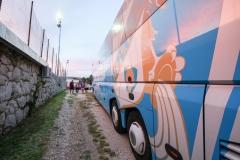 "27.06.2018., - Kraljevica. Igralište NK Kraljevica ""Milan Minta Ružić"". Prijateljska utakmica između NK Kraljevica i HNK Rijeka. Photo: Lario Tus"